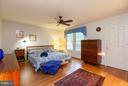 Bedroom (Master) - 7513 SWAN POINT WAY #18-1, COLUMBIA