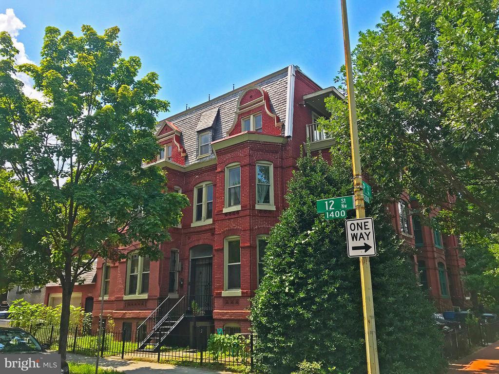 Exterior (Front) - 1432 12TH ST NW, WASHINGTON