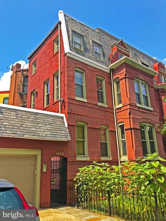 Exterior (Rear) - 1432 12TH ST NW, WASHINGTON