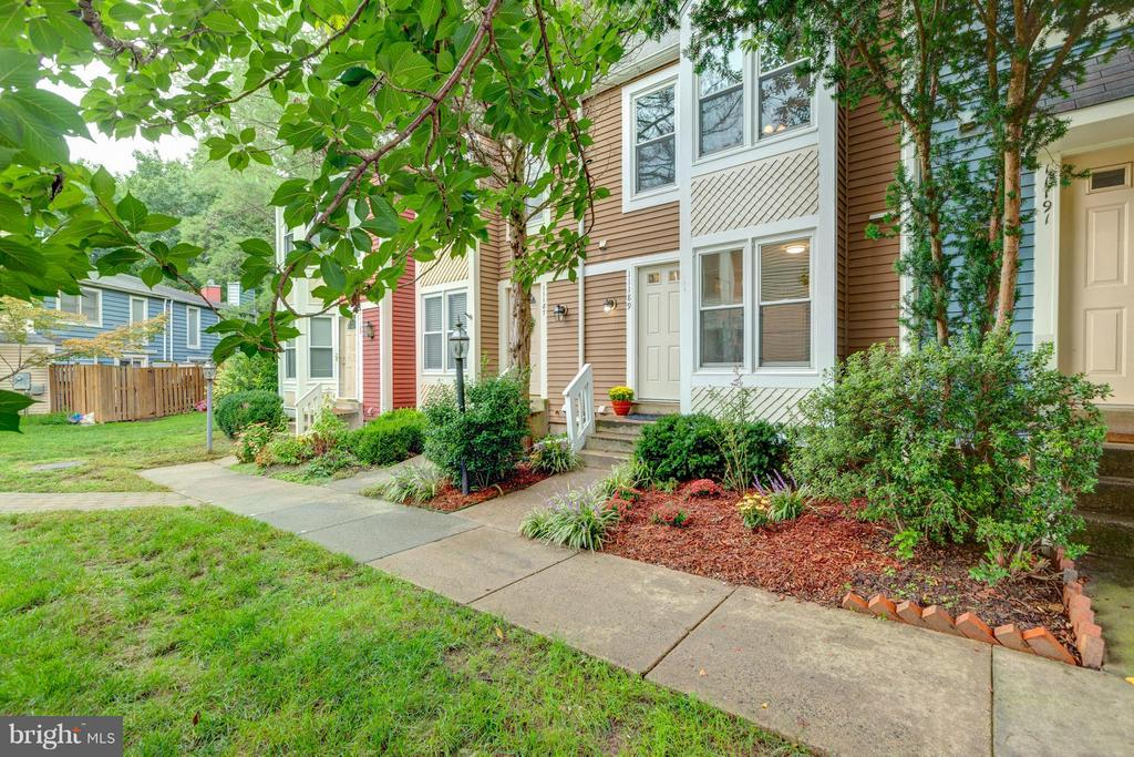 Take this sidewalk to your front door! - 11189 SILENTWOOD LN, RESTON