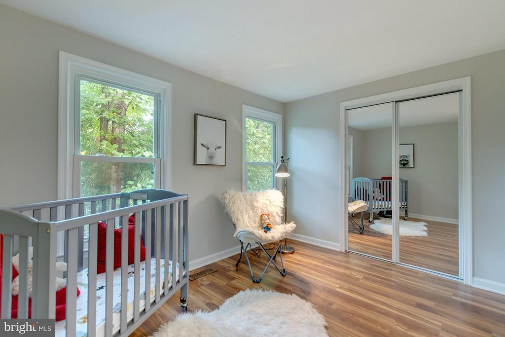 Second BR on Upper Level - 11189 SILENTWOOD LN, RESTON