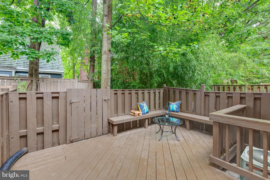 Relax on your Private Deck! - 11189 SILENTWOOD LN, RESTON