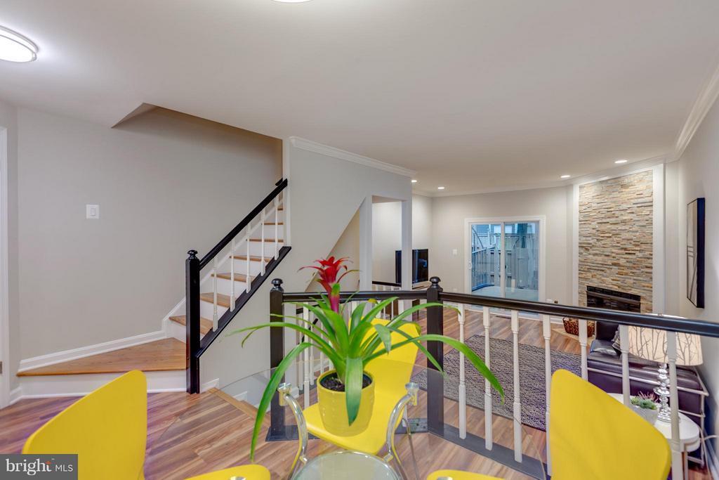 Open Floor Plan on Main Level - 11189 SILENTWOOD LN, RESTON