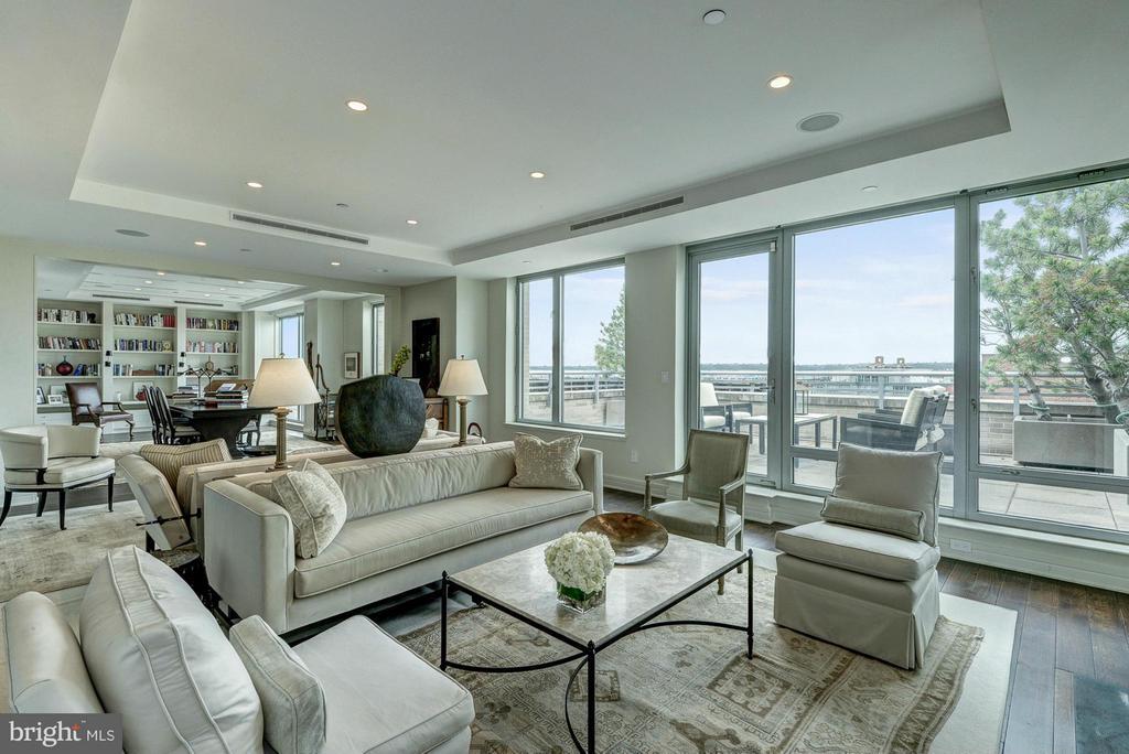 Living Room - 1155 23RD ST NW #PH3E, WASHINGTON