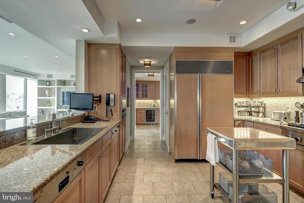 Kitchen - 1155 23RD ST NW #PH3E, WASHINGTON