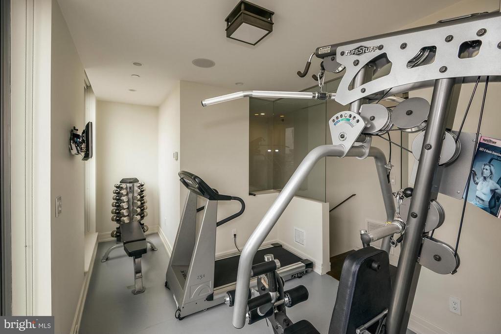 Upper Level Exercise Room - 1155 23RD ST NW #PH3E, WASHINGTON