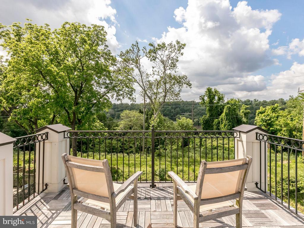 Roof Top Deck overlooking Potomac River - 4526 WESTHALL DR NW, WASHINGTON