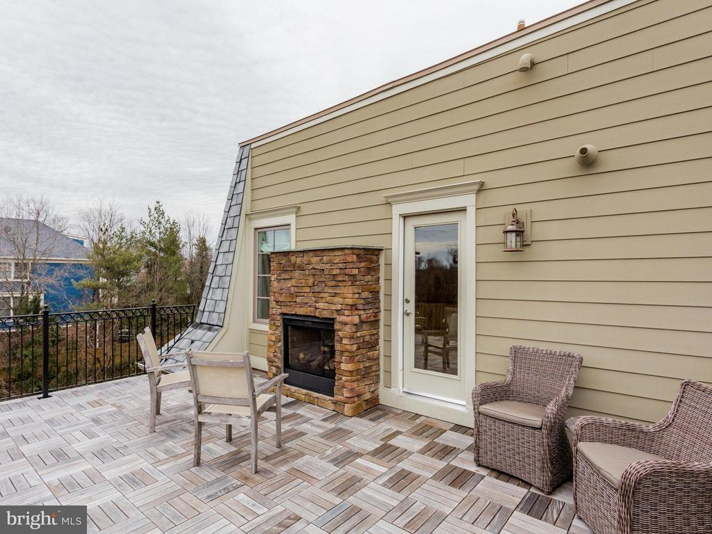 Rooftop with Fireplace - 4526 WESTHALL DR NW, WASHINGTON