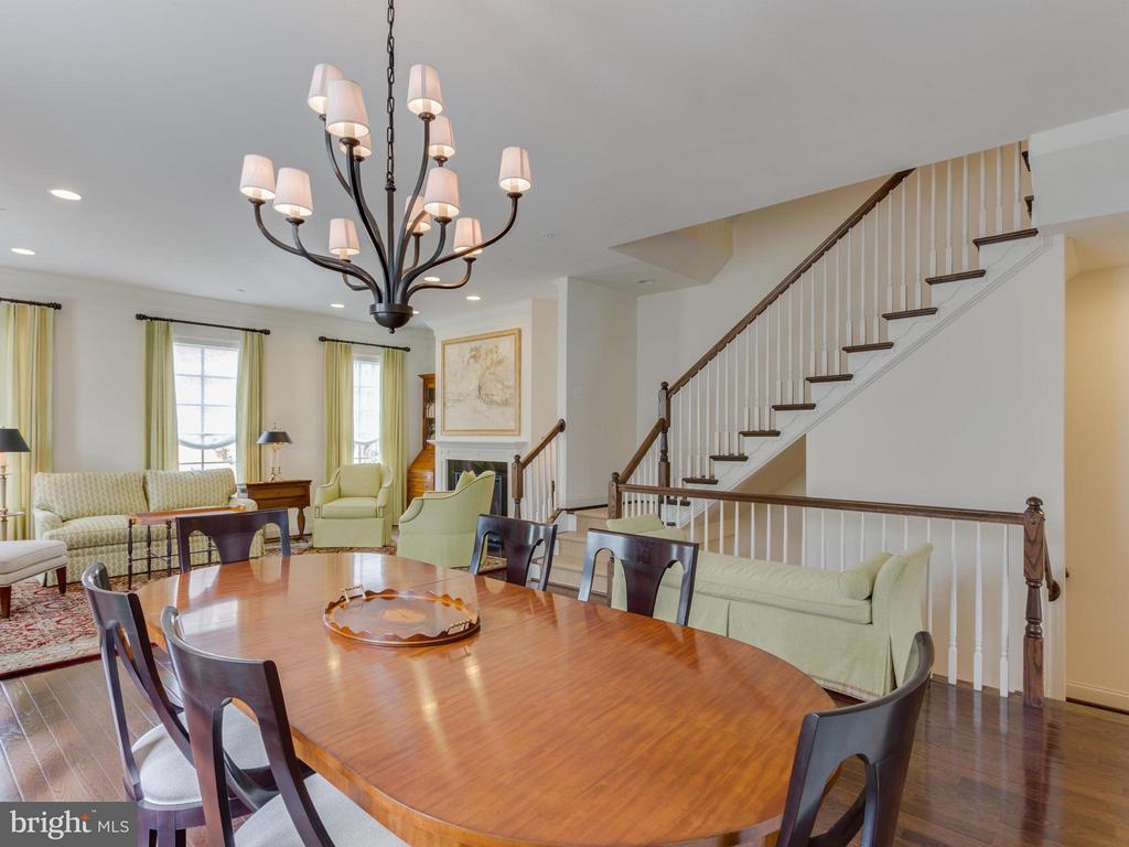 Main Floor Open Floor Plan - 4526 WESTHALL DR NW, WASHINGTON