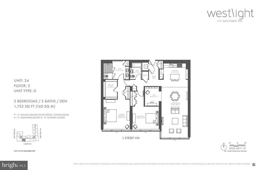 Interior (General) - 1111 24TH ST NW #2D, WASHINGTON