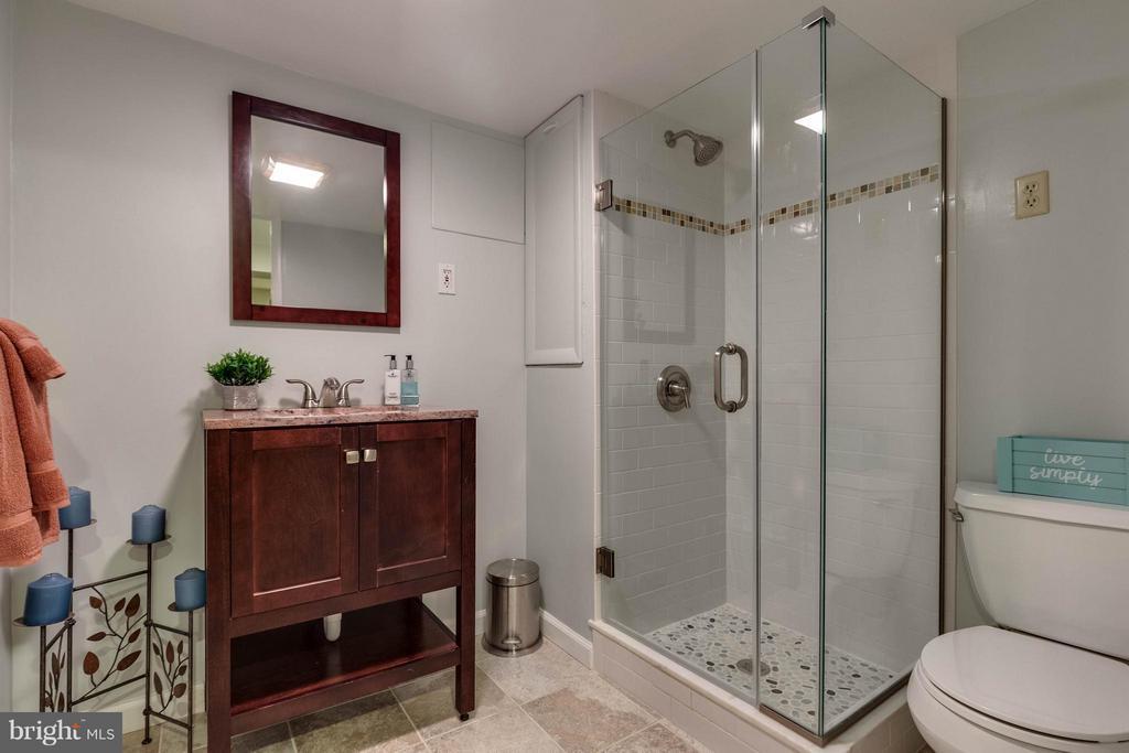 Lower Level Full Bath - 240 BURGESS AVE, ALEXANDRIA