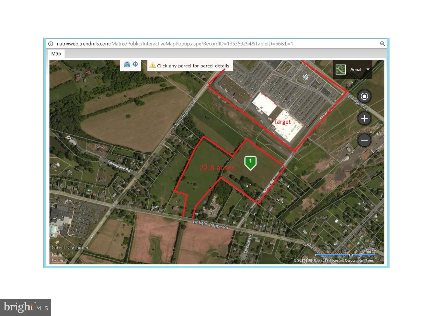 Land for Sale at Royersford, Pennsylvania 19468 United States