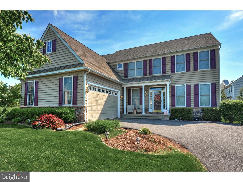 Частный односемейный дом для того Аренда на 43 BUNKER WAY Pottstown, Пенсильвания 19464 Соединенные Штаты