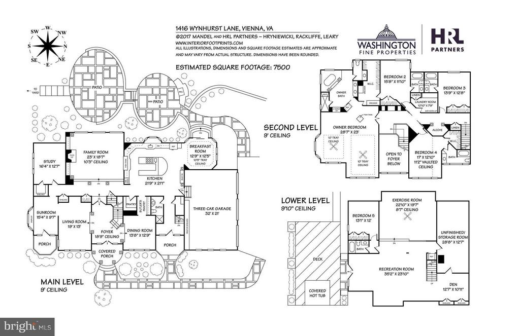 Floor Plans - 1416 WYNHURST LN, VIENNA