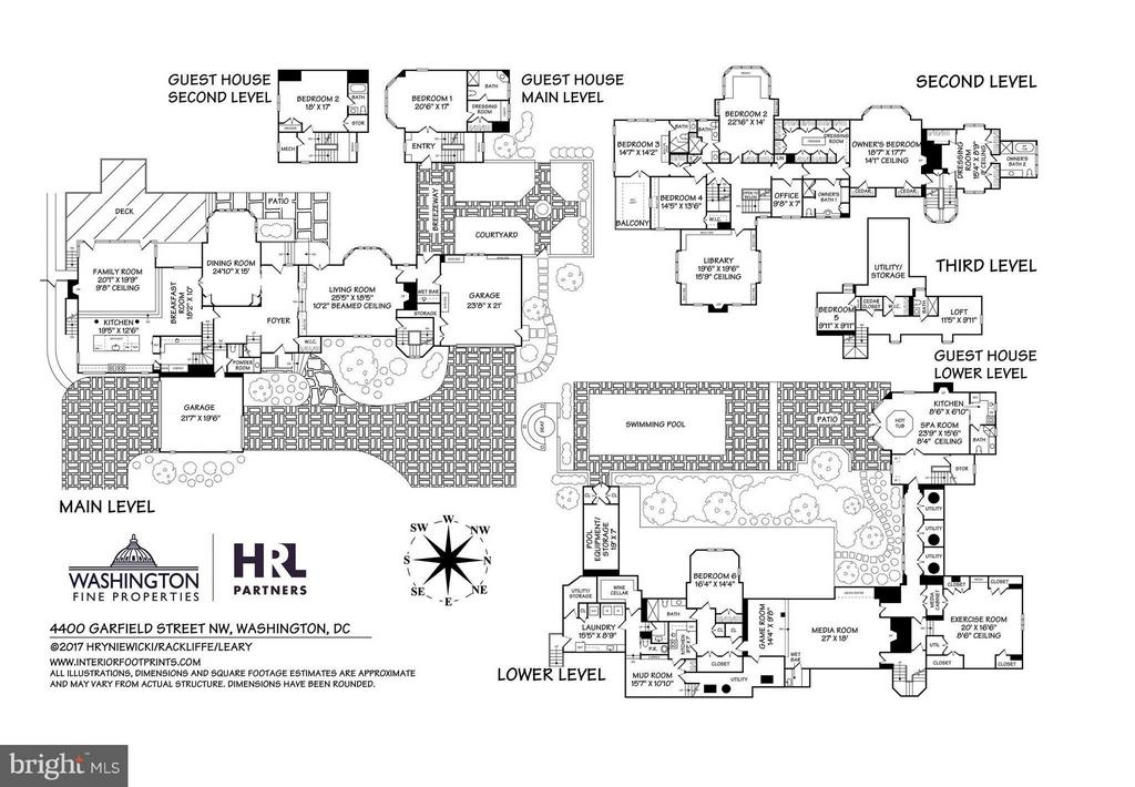 Floor Plans - 4400 GARFIELD ST NW, WASHINGTON