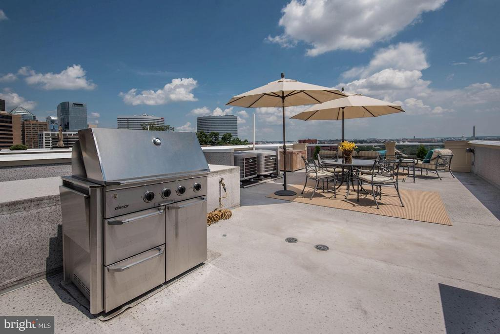 Grill on Private Rooftop with Views! - 1415 NASH ST N, ARLINGTON