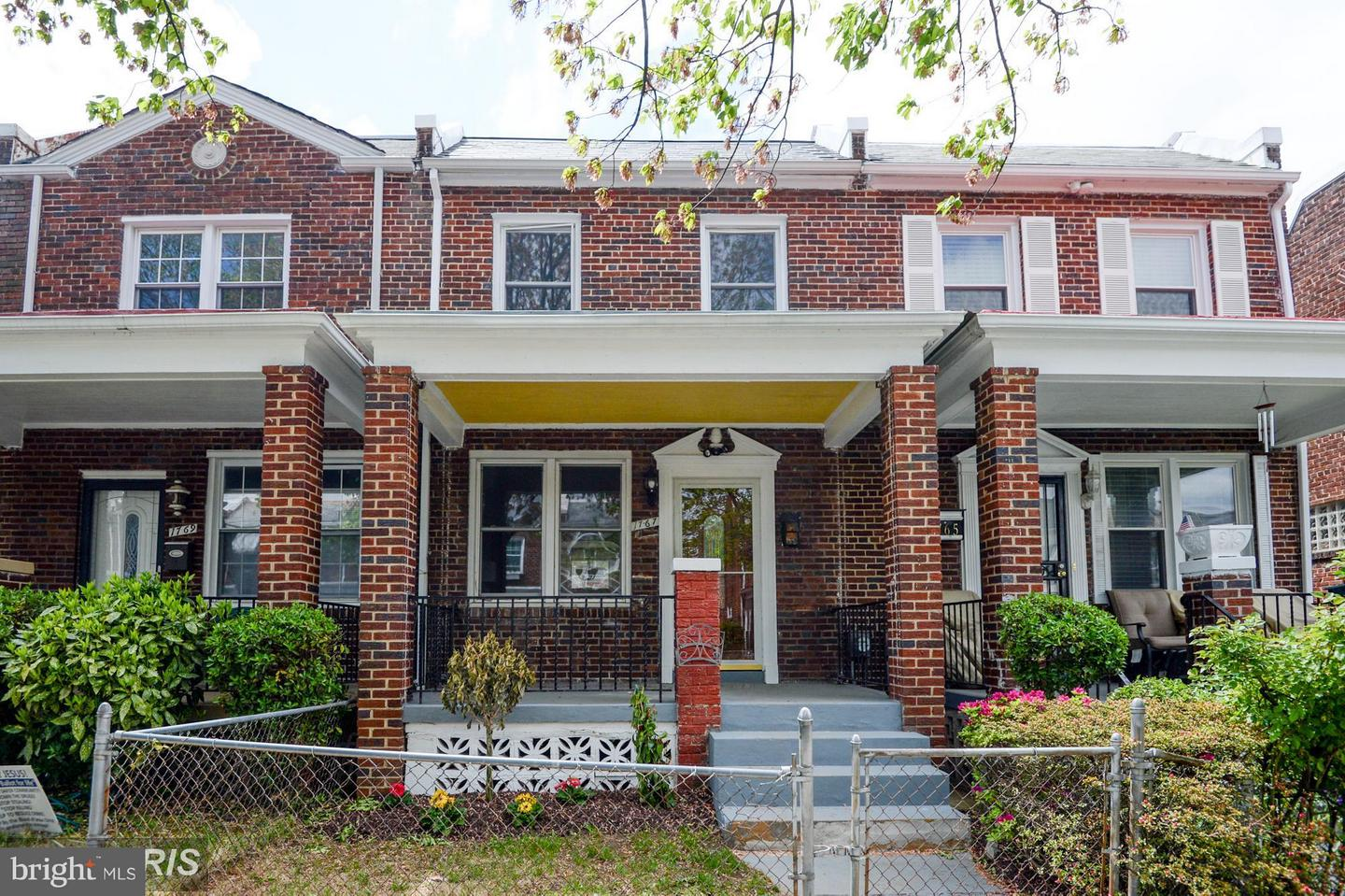 Single Family for Sale at 1767 Lang Pl NE Washington, District Of Columbia 20002 United States