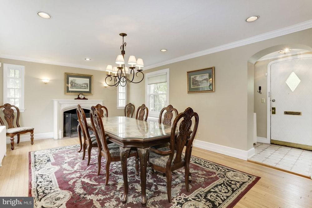 Dining Room - 9300 COLESVILLE RD, SILVER SPRING