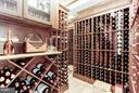 Custom Wine Cellar - 896 ALVERMAR RIDGE DR, MCLEAN