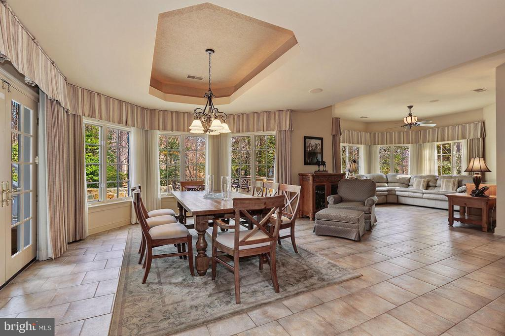 Lower Level Dining - 896 ALVERMAR RIDGE DR, MCLEAN