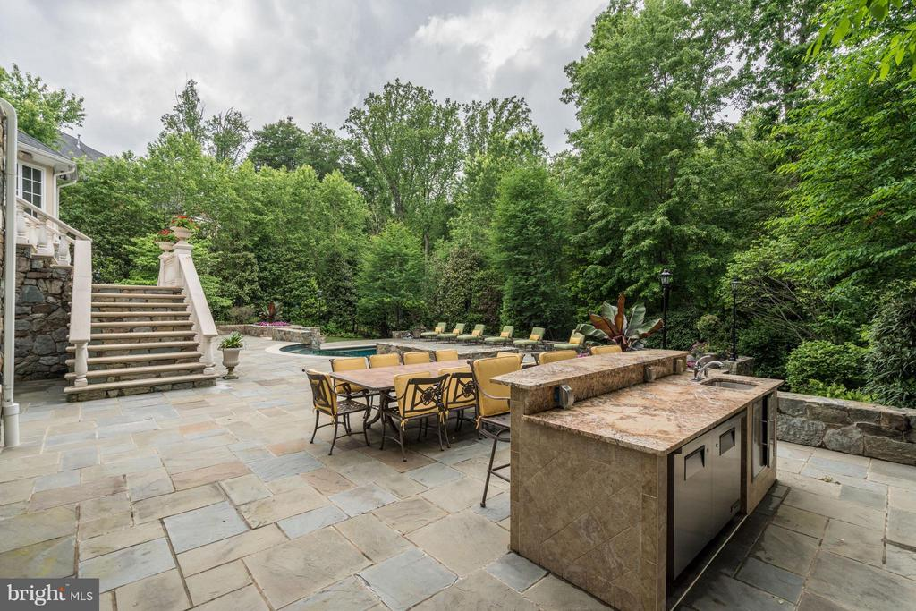 Outdoor Kitchen - 896 ALVERMAR RIDGE DR, MCLEAN