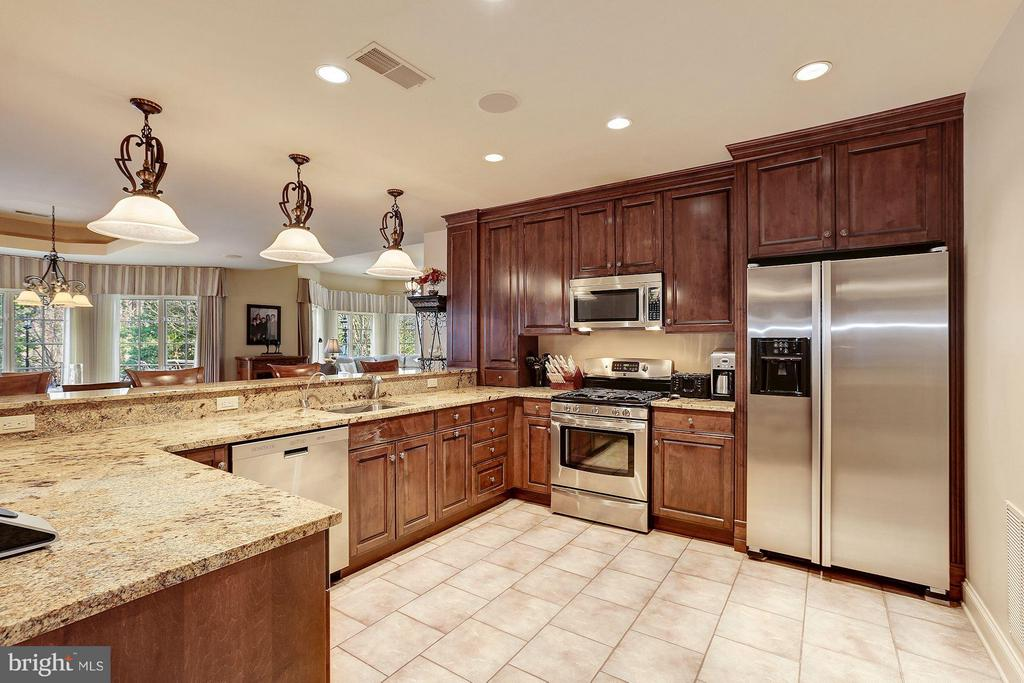 Lower Level Kitchen - 896 ALVERMAR RIDGE DR, MCLEAN