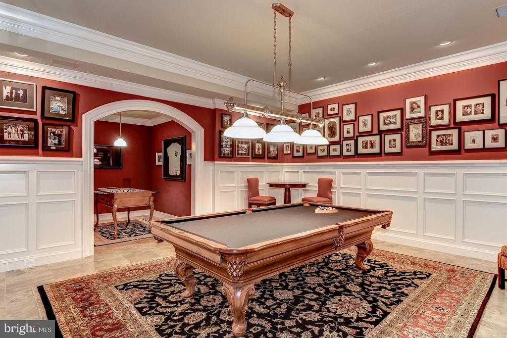 Billiard Room - 696 BUCKS LN, GREAT FALLS