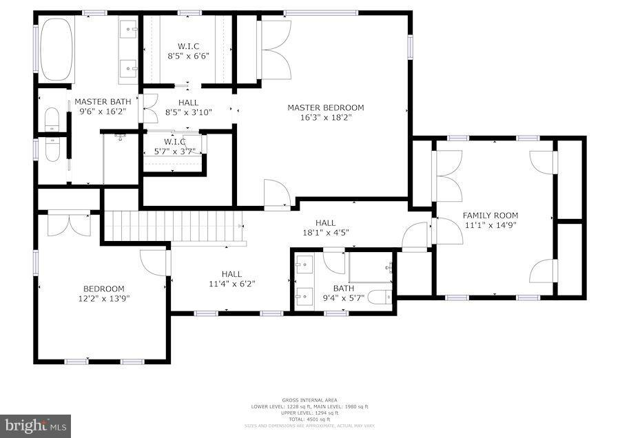 Floor plans - 2900 27TH ST N, ARLINGTON