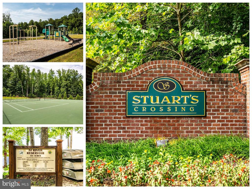 Community w/trails, tennis court, and playgrounds - 10214 DARDEN CT, SPOTSYLVANIA