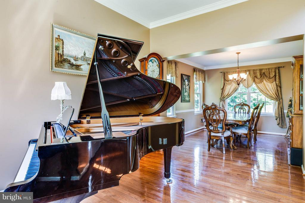 Entertain in style in living and dining rooms - 10214 DARDEN CT, SPOTSYLVANIA