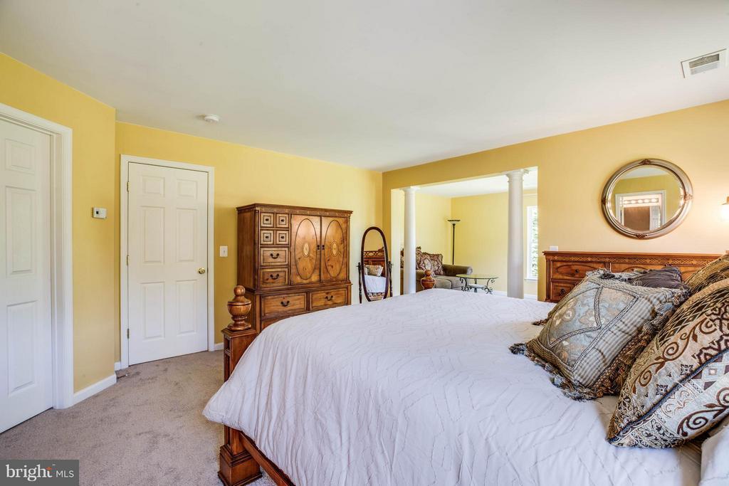 Upgraded suite features oversized walk-in closet - 10214 DARDEN CT, SPOTSYLVANIA