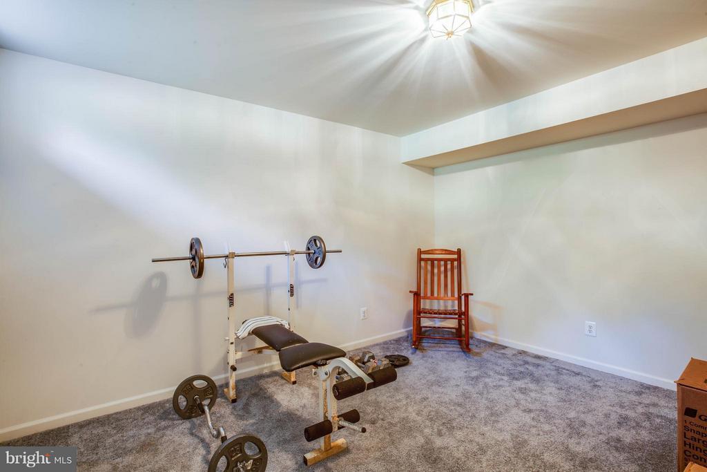 Sweat it out! Versatile den has many uses - 10214 DARDEN CT, SPOTSYLVANIA