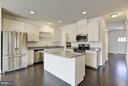 Optional kitchen suggestions - 1506 BEAUX LN, GAMBRILLS