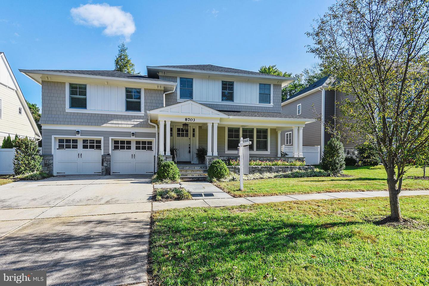 Photo of home for sale at 8703 Bradmoor Drive, Bethesda MD