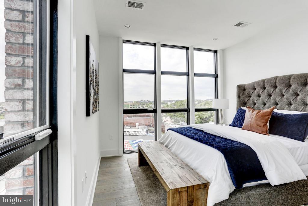 Bedroom (Master) - 1402 H ST NE #507, WASHINGTON