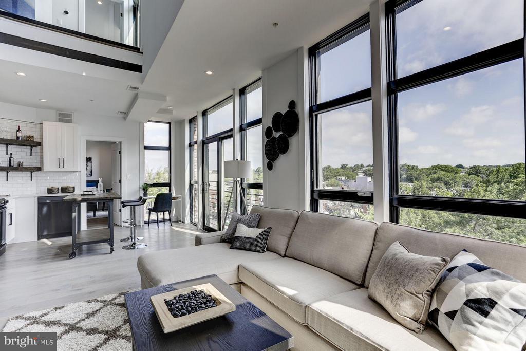 Living Room - 1402 H ST NE #503, WASHINGTON
