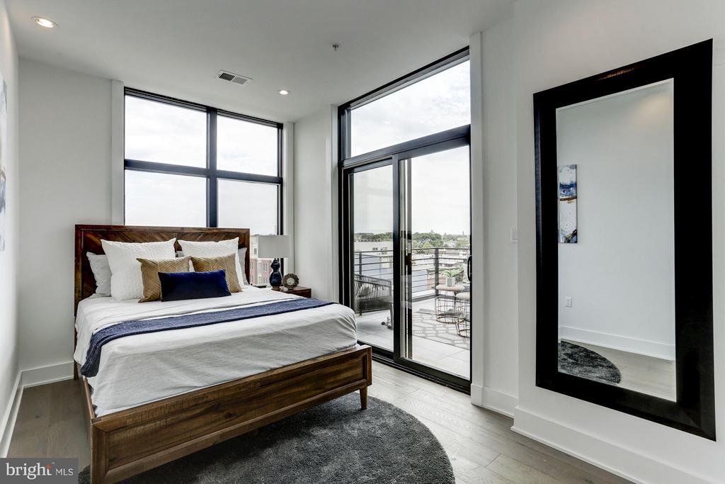 Bedroom - 1402 H ST NE #507, WASHINGTON