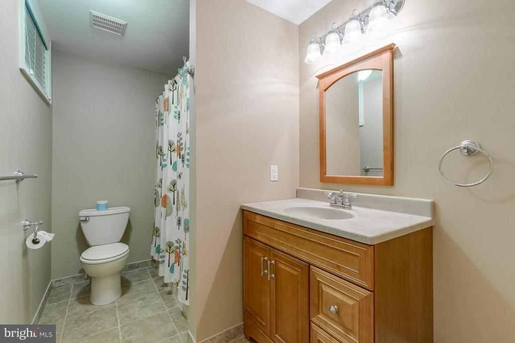 Basement Bath - 6410 PROSPECT ST, FREDERICKSBURG