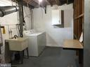 laundry room with plenty of storage - 710 1ST ST, ROCKVILLE