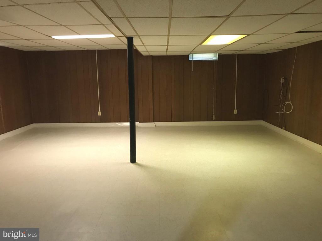 Spacious lower level family room - 710 1ST ST, ROCKVILLE