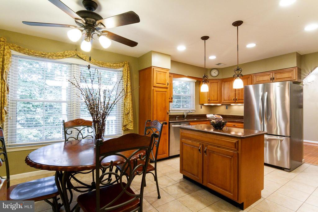 Stainless steel appliances and silestone counters - 4087 CAMELOT CT, DUMFRIES