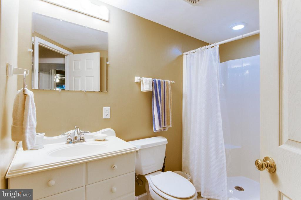 Full bathroom in basement - 4087 CAMELOT CT, DUMFRIES