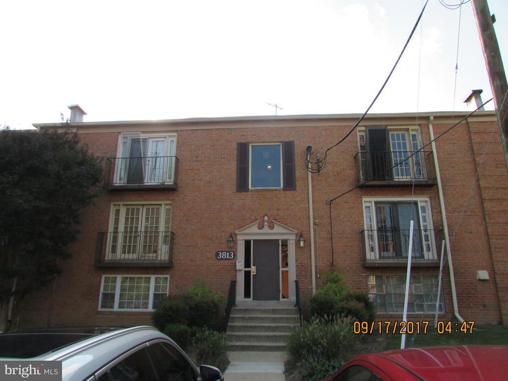 Exterior Building - 3813 SWANN RD #1, SUITLAND