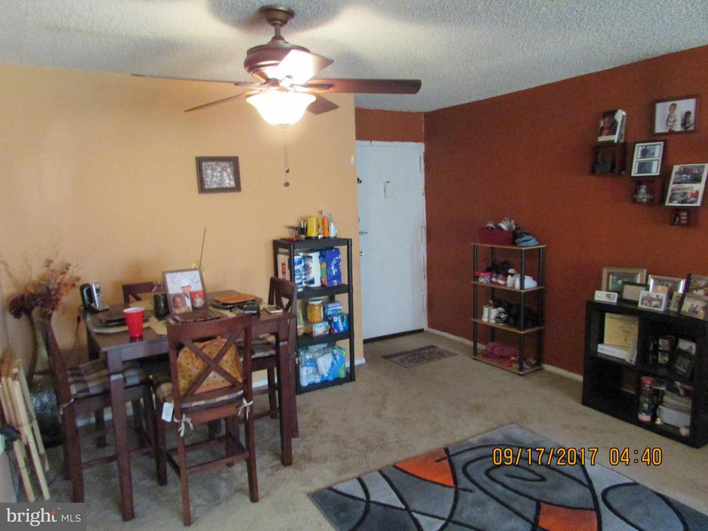 Dining Room and walk in area - 3813 SWANN RD #1, SUITLAND