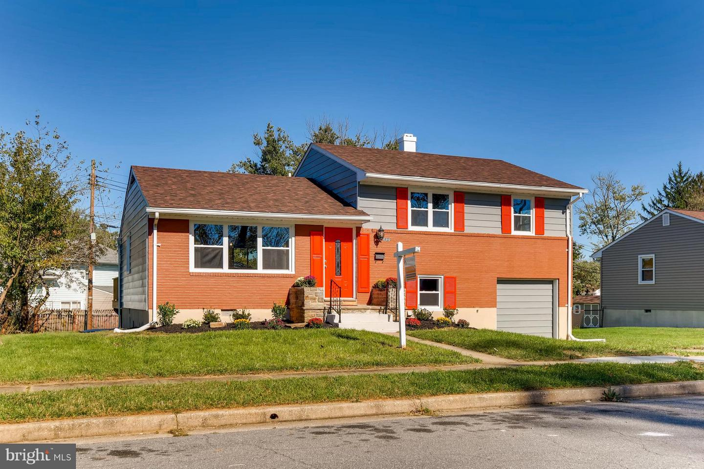 Photo of home for sale at 8510 Fieldway Drive, Randallstown MD