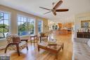 Flowy Open Floor Plan w/ Very large Family Room - 4610 MOCKINGBIRD LN, FREDERICK