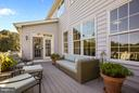 Lounge & dine on your private deck w/ stairs - 4610 MOCKINGBIRD LN, FREDERICK
