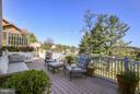 Lovely deck w/ pastoral  & wooded views - 4610 MOCKINGBIRD LN, FREDERICK