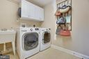 Large laundry room w/ sink & storage - 4610 MOCKINGBIRD LN, FREDERICK
