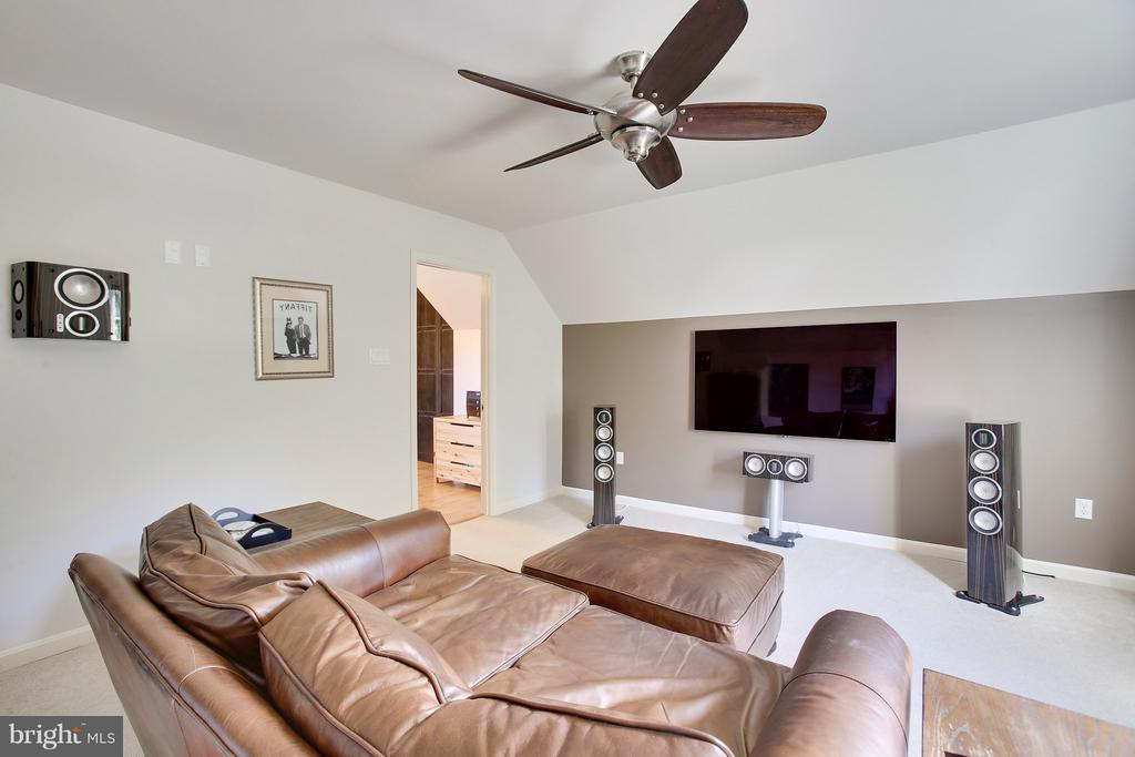 Your own media Room off your Master Suite - 4610 MOCKINGBIRD LN, FREDERICK
